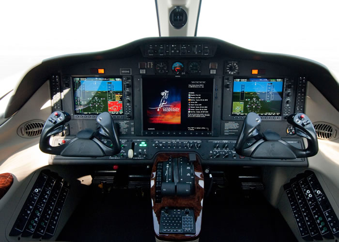 Citation Mustang Cockpit